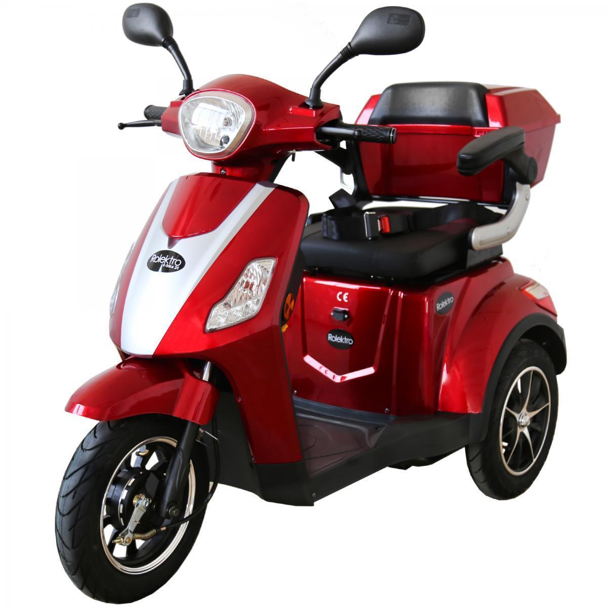 Bild 1 von Rolektro E-Trike 25 V.2, Rot, 1000 Watt