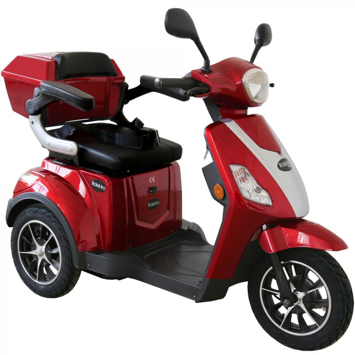 Bild 2 von Rolektro E-Trike 25 V.2, Rot, 1000 Watt