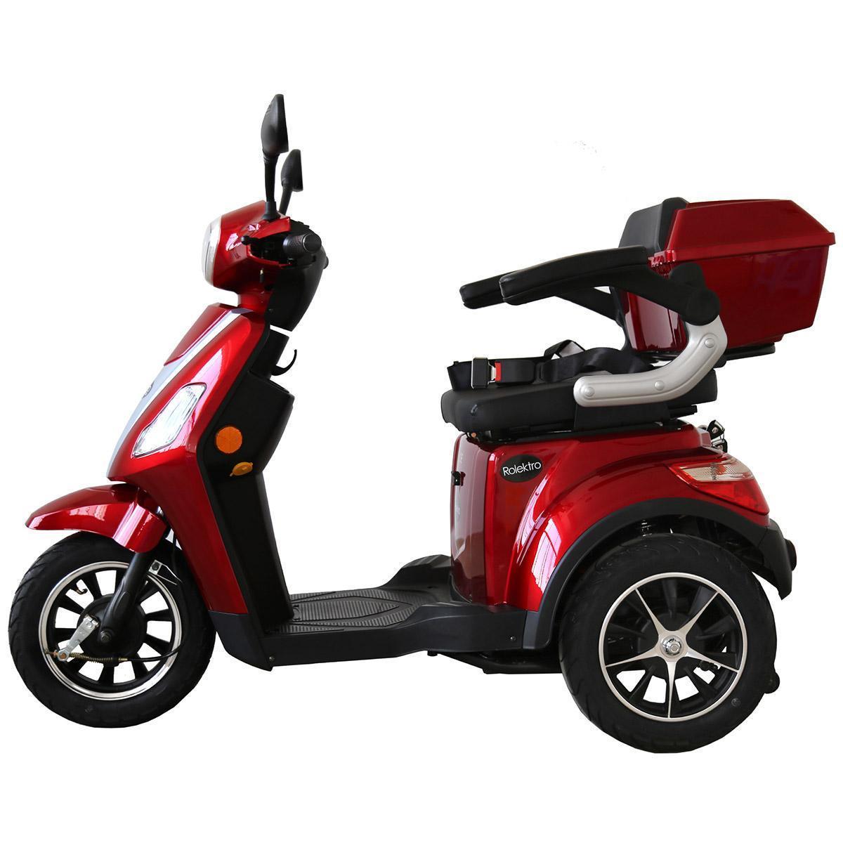 Bild 3 von Rolektro E-Trike 25 V.2, Rot, 1000 Watt