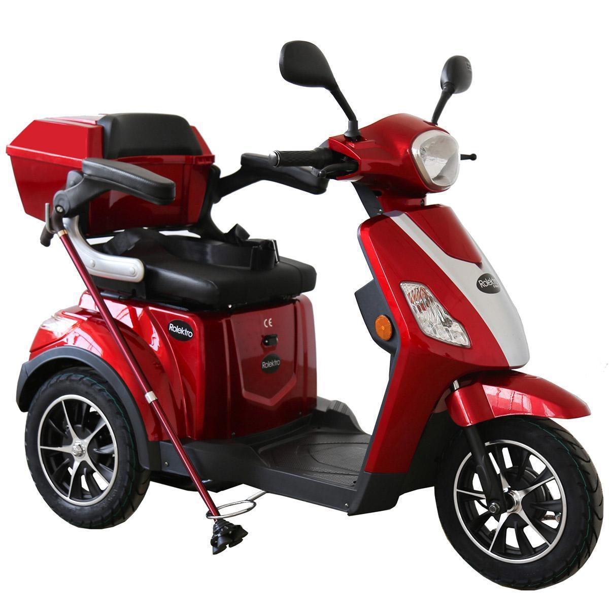 Bild 4 von Rolektro E-Trike 25 V.2, Rot, 1000 Watt