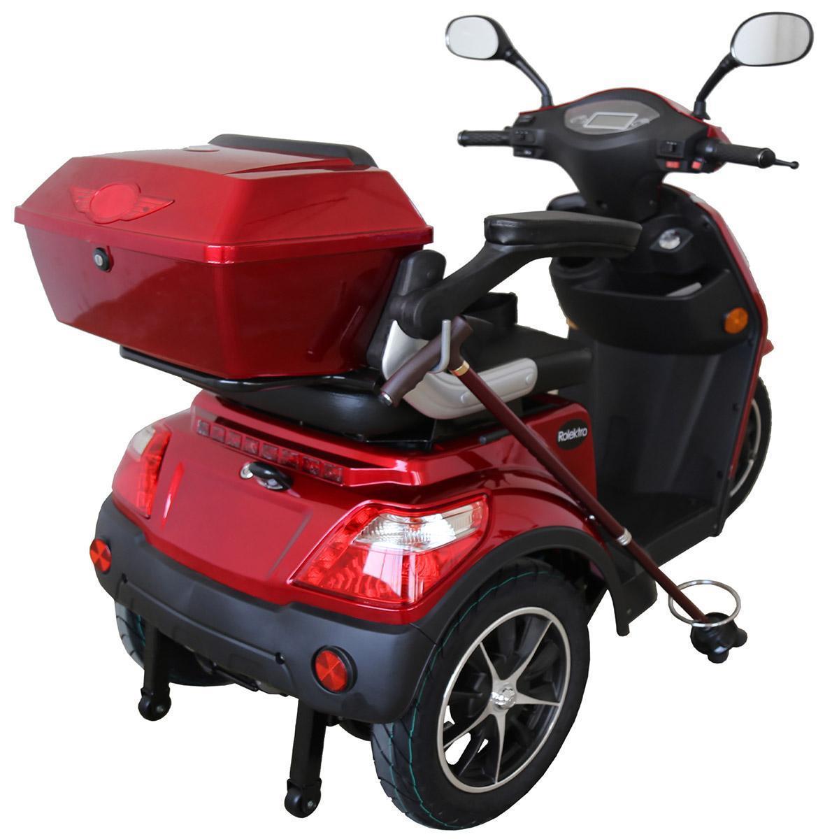 Bild 5 von Rolektro E-Trike 25 V.2, Rot, 1000 Watt