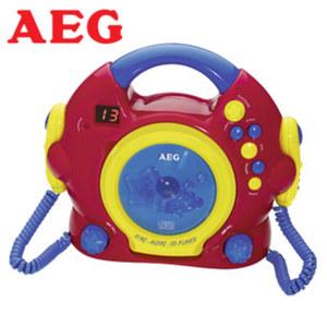 Sing-Along-CD-Player CDK 4229 integr. Lautsprecher, 2 Karaoke-Mikrofone, Kopfhörer-Anschluss, Batteriebetrieb