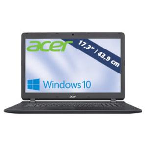 Notebook Aspire ES 17  ES1-732-C730 · HD+ Display · Intel® Celeron® N3450 (bis zu 2,2 GHz) · Intel® HD Graphics 500 · USB 2.0, USB 3.0 · DVD-Brenner