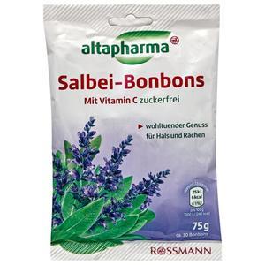 altapharma Salbei-Bonbons mit Vitamin C zuckerfrei 1.19 EUR/100 g
