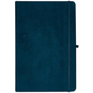 IDEENWELT Notizbuch dunkelgrün DIN A5, Blätter kariert
