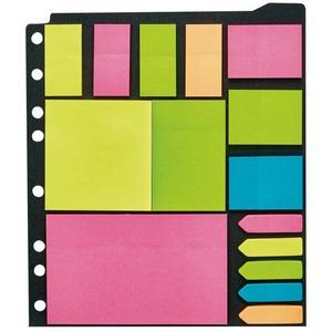 IDEENWELT Pagemarker- & Haftnotizen-Set neon