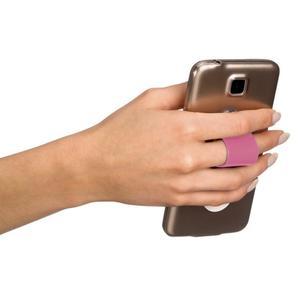 IDEENWELT Smartphone-Fingerschlaufe pink