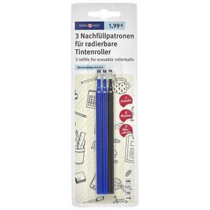 IDEENWELT 3 Nachfüllpatronen für radierbare Tintenroller