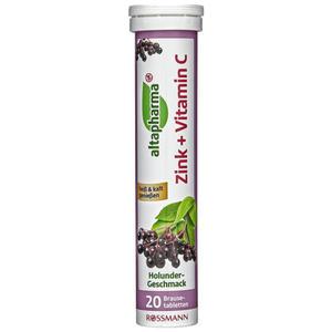 altapharma Brausetabletten Zink + Vitamin C 1.18 EUR/100 g