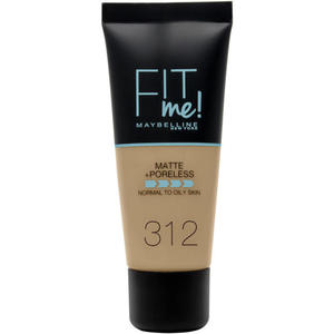 Maybelline Fit me! MATTE&PORELESS Make-up Nr. 312