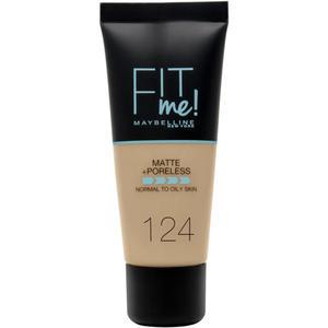 Maybelline Fit me! MATTE&PORELESS Make-up Nr. 124
