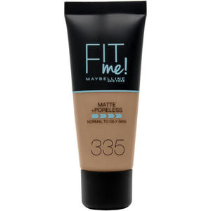 Maybelline Fit me! MATTE&PORELESS Make-up Nr. 335 Classic Tan