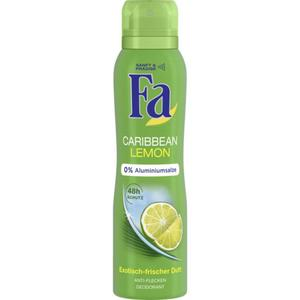 Fa Deodorant Spray Caribbean Lemon 0.83 EUR/100 ml