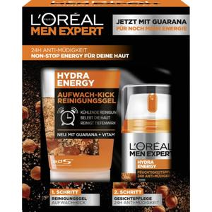L'Oréal Paris men expert Hydra Energy Geschenkset