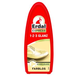 Schuhcreme 1-2-3 Glanz farblos Erdal