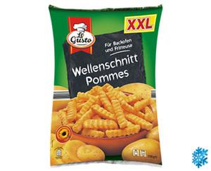 LeGusto Wellenschnitt Pommes, XXL-Packung