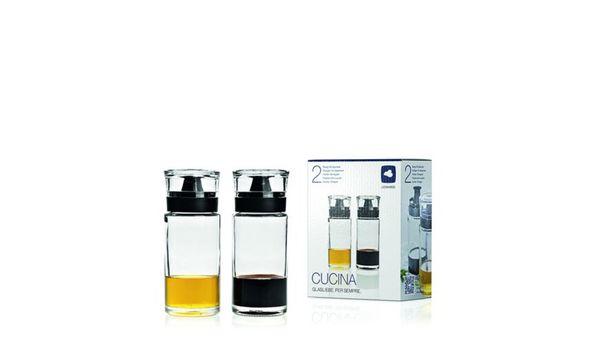LEONARDO Essig- & Ölflaschen Cucina 2er-Set