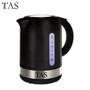 TAS Wasserkocher mit blauer LED 1,7L Schwarz
