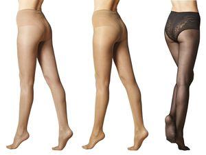 ESMARA® 3 Damen Stützstrumpfhosen