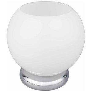 LED-Tischleuchte RICK - Milchglas - warmweiß