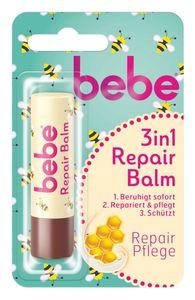 bebe® Lippenpflegestift 3in1 Repair Balm