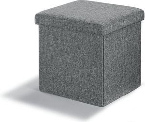 Sitz - und Aufbewarungshocker - Grau