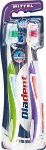 Diadent Zahnbürste Premium mittel Whitening  2 Stück