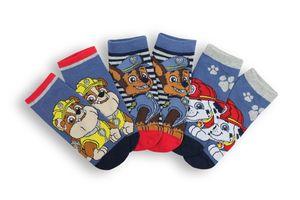 Kinder Socken, 3er Pack, Paw Patrol Jungen Gr. 27-30
