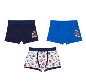 Kinder Retro Shorts, 3er Pack - Paw Patrol, Gr. 98/104