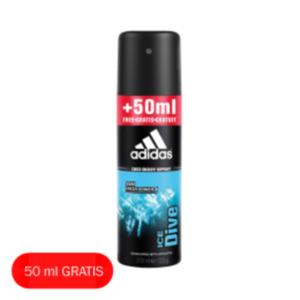 adidas Shower Gel/Deospray Überfüller