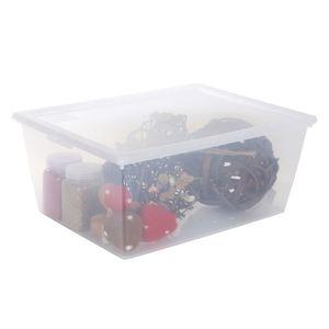 E&K Klarsichtbox mit Deckel 19L Transparent