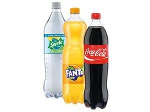 Coca-Cola/ Fanta/Sprite