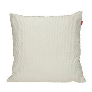 Kissenhülle E-Beat - Weiß - Größe: 38 x 38 cm, Esprit Home