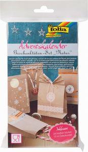 Adventskalender - Geschenktüten-Set - Natur