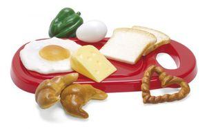 Frühstücksplatte im Netz 10 Teile  Dantoy