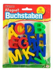 Magnetbuchstaben groß - 31-teilig - Besttoy