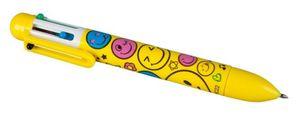 Besttoy - Kugelschreiber mit 6 Farben - Smiley