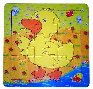 BESTTOY Holzpuzzle Ente