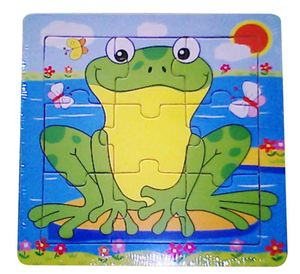 BESTTOY Holzpuzzle Frosch