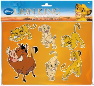 König der Löwen - 2 Zeichenschablonen