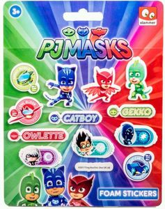 PJ Masks - Stickerset - 12 Stück