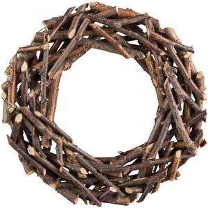 Dekokranz - aus Holz - Ø = 30 cm