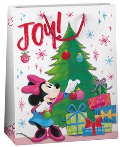 Geschenktüte - Minnie Mouse - L - ca. 32,4 x 26 x 12 cm