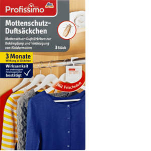 Profissimo Mottenschutz-Duftsäckchen