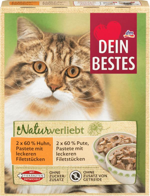 Dein Bestes Nassfutter Fur Katzen Naturverliebt Beutel Variation