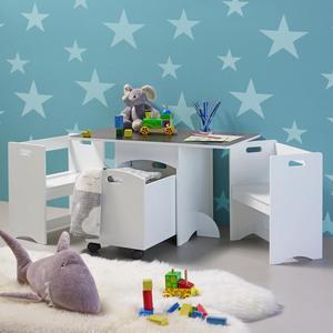 Kindersitzgruppe Melly inkl.stauraum &tafeloberfläche