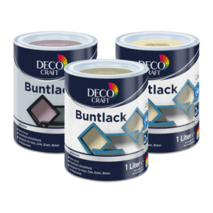 DECO CRAFT  	   Buntlack