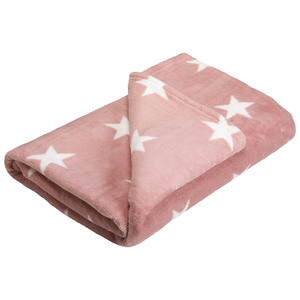 Schlafdecke Starlight (140x200, rosa)