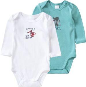 Doppelpack Bodys Gr. 56 Jungen Baby