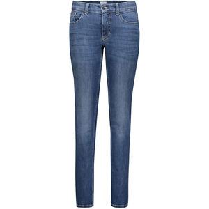 Mac Damen Jeans, Straight Leg, mittelblau, 42/L34